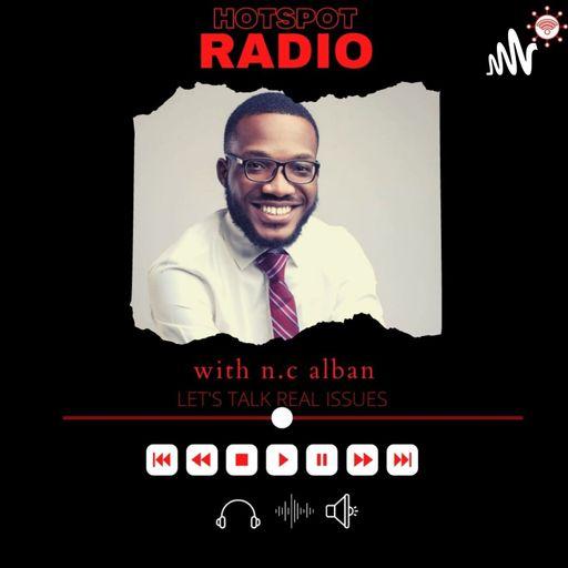 Hotspot Radio with n.c alban