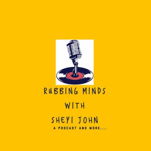 Rubbing minds with sheyi John